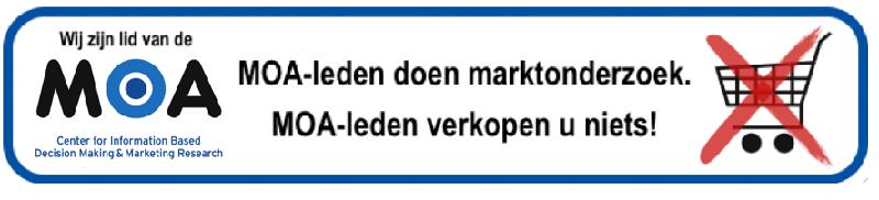 Marktonderzoek, dus geen verkoop
